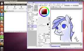 install paint tool sai on linux w pen pressure by hardcyder on