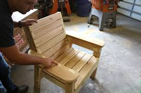 Make Wood Patio Furniture by Diy Patio Chair Plans And Tutorial Step By Step Videos And Photos
