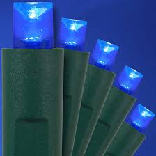 blue led christmas string lights blue led christmas lights 50 ct 5mm mini yard envy