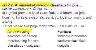 finding craigslist srq rental properties