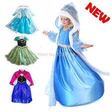 Anna Elsa Halloween Costumes Encontrar Más Vestidos Información Acerca Bebé Niñas Elsa