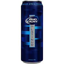 bud light platinum price light platinum beer 25oz can
