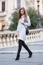 sweater dress and 17 ways to wear grey sweater pretty designs