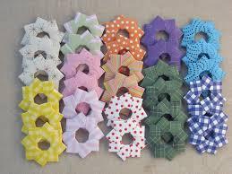 items similar to mini origami wreath tree ornaments