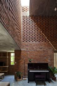modern brick house brick termitary house shaped by the extreme climate of da nang