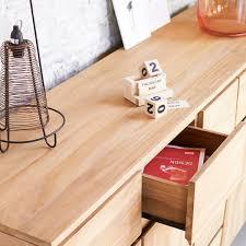 Milano Laminate Flooring Teak Sideboard Large Milano Solid Wood Sideboard At Tikamoon