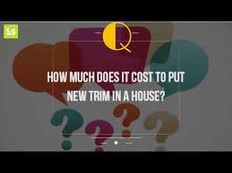 how much does it cost to put trim in a house