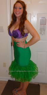 mermaid costume spirit halloween 45 pretty homemade ariel the little mermaid costumes