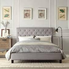 upholstered king bed frame canada home design ideas