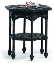 outdoor wicker end tables wicker lane offers outdoor wicker end
