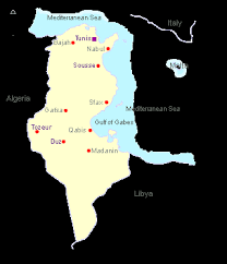 map of tunisia with cities 1up travel tunisia maps cities map cities of tunisia