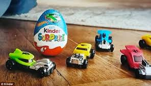 Where To Buy Chocolate Eggs With Toys Inside Shoppers Slam U0027sexist U0027 Kinder Surprise Eggs Daily Mail Online