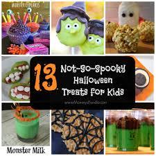 13 not so spooky halloween treats for kids spooky halloween
