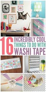Washi Tape Home Decor Incredibly Cool Things To Do With Washi Tape