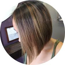 how to add colour chunks to hairstyles 21 eye catching a line bob hairstyles styles weekly