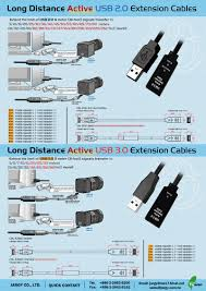 long distance active usb2 0 u0026 usb3 0 extension cables
