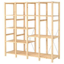 Ikea Shelving Units by Ivar 4 Section Shelving Unit Ikea