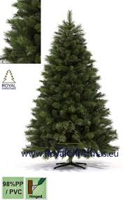 artificial christmas tree new york deluxe natural model premium