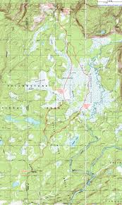 Yellowstone Map Usa by Map Showing Backcountry Campsites In The Bechler River And