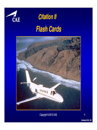 citation i ii sii flashcards dallas takeoff flap aeronautics