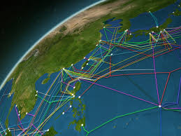 Undersea Cable Map Global Fiber Optic Internet Cables Map Business Insider