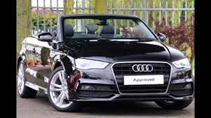 audi convertible 2016 2016 audi a3 cabriolet mythos black youtube