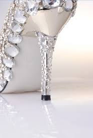 wedding shoes rhinestones high heel crystral closed toes rhinestone wedding shoes silver
