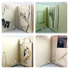 photo albums with sticky pages swg design by levoir vintage wedding mini album dies to