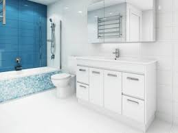 Bathroom Warehouse Turquoise Feature Wall A Jewel Of A Renovation Who Bathroom