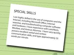 How To Make A Quick Resume How To Write A Resume For Babysitting With Pictures Wikihow Essay