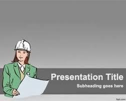 template latar powerpoint konstruksi bangunan keren update area