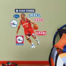 evan turner fathead jr nba 76ers basketball wall sticker