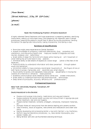 resume summary of experience oral surgery assistant resume free resume example and writing dental assistant resume sample 3 free resume examples free by