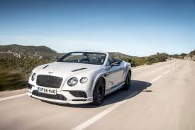 bentley continental supersports 2017 2017 bentley continental supersports convertible front three