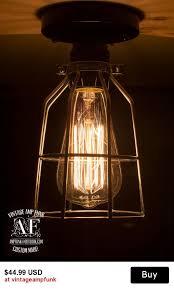 Edison Ceiling Light 133 Best Ceiling Light Images On Pinterest Rustic Lighting