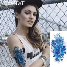 online get cheap flower shoulder tattoos aliexpress com alibaba