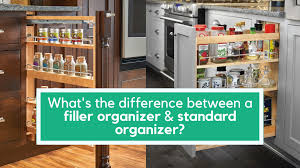 how to put filler on kitchen cabinets when to use a filler organizer pullout and how to install it