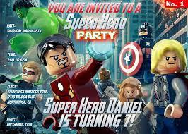 captain america birthday invitations free printable invitation