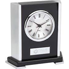 Wood Desk Clock Custom Promotional Desk Clocks Personalized Desk Clocks