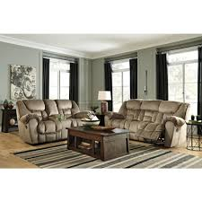 Ashley Furniture Leather Loveseat Ashley Furniture Jodoca Reclining Livingroom Set In Driftwood