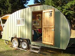 ideas inspirations wooden style caravan prefab home with green chemical free house non toxic teardrop trailer
