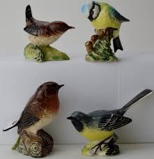 of 4 various beswick bird ornaments blue 992 grey
