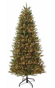 7 5 ft pre lit vernon fir artificial tree 700 clear