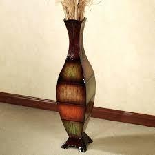 Large Brown Floor Vase Tall Floor Vases Uk Blue And White Large Vase 27274 Gallery