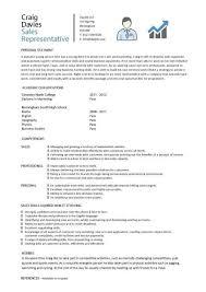 Sample Of Sales Representative Resume by Sample Resume For Sales Representative Jennywashere Com