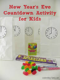 new year u0027s eve countdown activity for kids by celebrating family