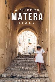 a short guide to matera italy the city of caves u2014 along dusty roads
