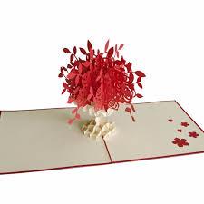 3d Flower Vase 3d Floral Handmade Greeting Card For Her Pop Up Handmade Card