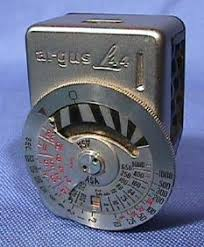 shoe light meter argus collector s group