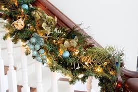 Christmas Banister Garland Christmas Garland